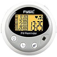 Fysic FC-55 Elektronischer Medikamenten-/Tablettenbehälter mit fünf Fächern und Alarmfunktion preisvergleich bei billige-tabletten.eu