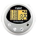 Fysic FC-55 Elektronischer Medikamenten-/Tablettenbehälter mit fünf Fächern und Alarmfunktion