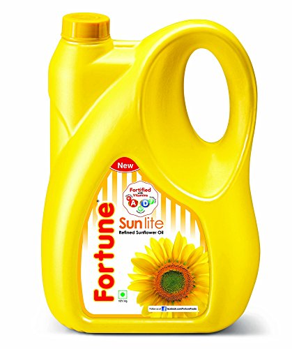 Fortune Sunlite Refined Sunflower Oil, 5L Can
