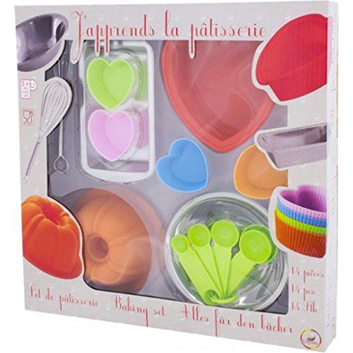 Ulysse - 5038 - Jeu D'imitation - Cuisine - Set du Pâtissier - Silicone