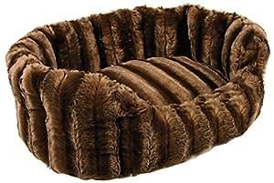 Panier 50 cm beige Warmy Zolux pour chiens et chats