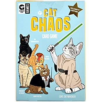 Cat Chaos Family Card Game