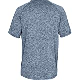 Under Armour Herren UA Tech SS Tee 2.0 Kurzarmshirt, Academy/Steel (409), XXL Vergleich