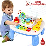 Best Musical Toy For One Year Old Boys - Musical Learning Table Baby Toys 6 to12 Months Review