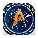 CafePress-Star Trek Fédération des planètes-pour carrelage Dessous de Verre, dessous de boisson, petite Dessous de Plat