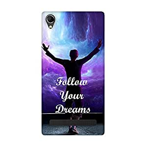 FASHEEN Premium Designer Soft Case Back Cover for Intex Aqua Power Plus