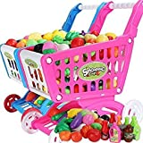 Hobnot Shopping Cart Playset With Required Food And Cart