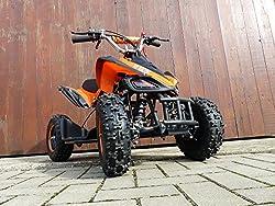 RV-Racing Quad Mini Kinder ATV 6 Zoll 49cc 2Takt Pocketquad Kinderquad Orange
