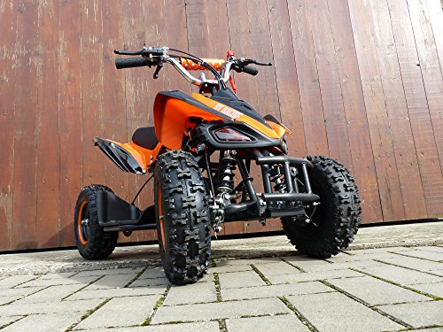 Preisvergleich Produktbild RV-Racing Quad Mini Kinder ATV 6 Zoll 49cc 2Takt Pocketquad Kinderquad Orange