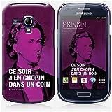 Coque Samsung Galaxy S3 mini de chez Skinkin - Design original : Chopin par Fists et Lettres