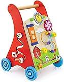 Viga - 2043635 - Juguetes Primera Edad Desde - Hasta Empuje Trolley - Rojo
