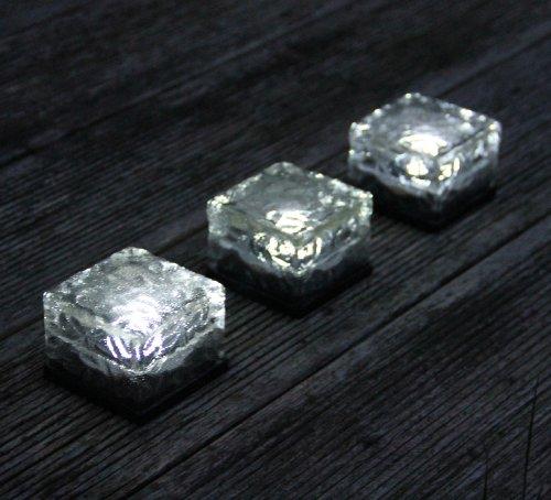 Frostfire Solarlichter Eisblöcke