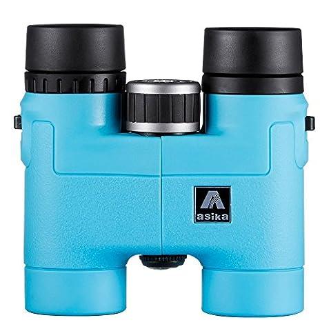 BNISE 8X32 Fernglas, Leichtes Kompaktes Gehäuse aus Magnesiumlegierung, klein für kinder Ferngläser, Asika Mehrfach vergütete Optik und Phase Beschichtet BaK-4 Prismen, Helle und Unverzerrtes Bild