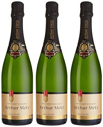 Arthur Metz Crémant Brut Trocken   (3 x 0.75 l)