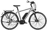 E-Bike Victoria e Spezial 10.7 Herren in quarzgrey matt/weiß Modell 2015, Rahmenhöhen:55 cm
