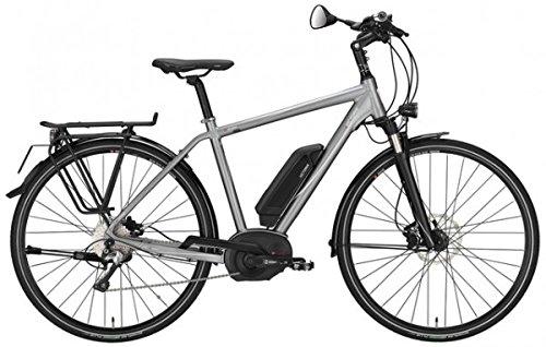 E-Bike Victoria e Spezial 10.7 Herren in quarzgrey matt/weiß Modell 2015, Rahmenhöhen:50 cm