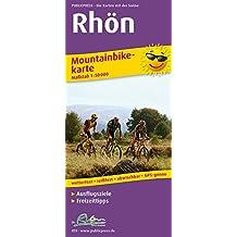 Rhön: Mountainbikekarte mit Ausflugszielen, Einkehr- & Freizeittipps, wetterfest, reissfest, abwischbar, GPS-genau. 1:50000 (Mountainbikekarte / MBK)