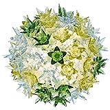 Kartell Bloom Cw2 Lampada da Parete/Soffitto, Confezione da 1 Pezzo, Menta