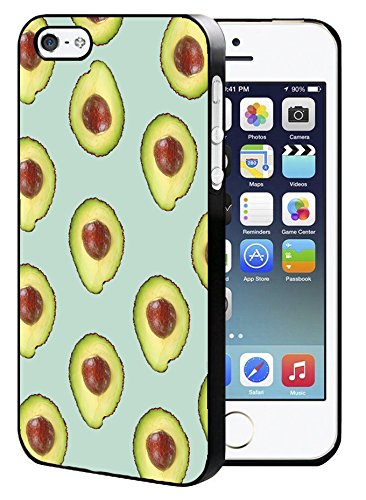 Avocado Fruit Muster iPhone 5/5S/SE Hard Case Back Cover (Iphone 5s Verizon)