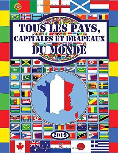 Tous les pays, capitales et drapeaux du monde par  Enfants intelligents