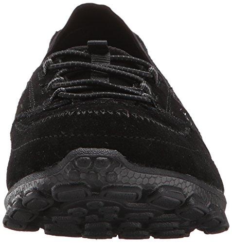 Skechers Sport Deja Vu moda Sneaker Black Suede