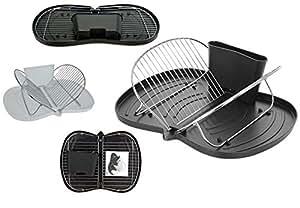 geschirr abtropfgitter abtropfst nder abtropfgestell klappbar camping k che haushalt. Black Bedroom Furniture Sets. Home Design Ideas