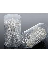 Yantu Horquillas para boda, diseño de flores, perla y cristal, 40 unidades, ideal para la madrina