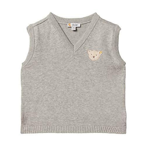 Pullover mit V-Ausschnitt und Teddybärmotiv