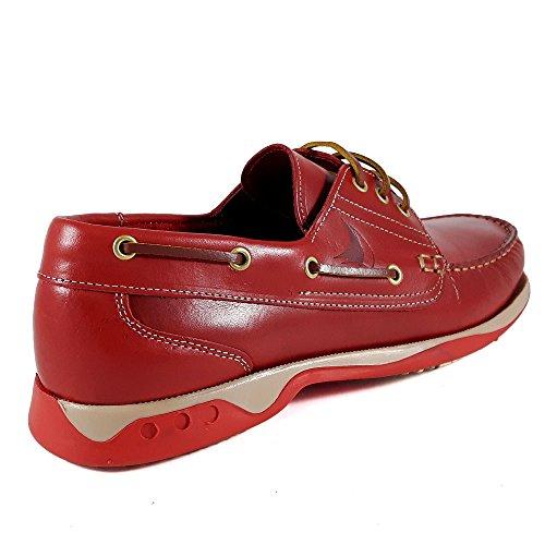 N_BLUE , Herren Bootsschuhe Rot