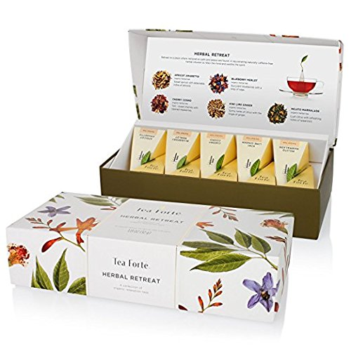Tea Forte Herbal Retreat Bio Presentation Box, 10...