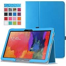 MoKo–Funda fina y plegable para Tablet Samsung Galaxy Note Pro 12.2, Tab 3Lite 7, Tab 47.0, Tab 48.0, Tab 410.1, Tab Pro 8.4, Tab Pro 10.1 azul azul para Galaxy Note Pro 12,2