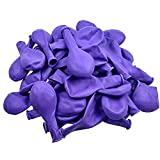 DekoHaus Luftballons Ø 25 cm Farbe und Menge wählbar Made in EU Ballons (Violett, 500)