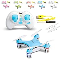 Top Race® 4 Channel Micro Quad Copter TR-MQ1 (Smallest Quad Copter in the world) Colors Vary by Top Race