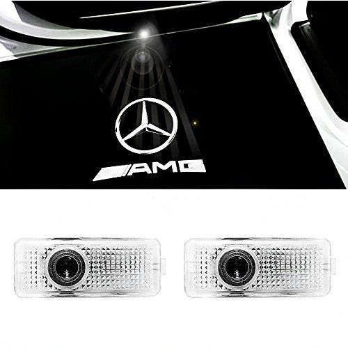 ColorBuy Türlicht Projektor Logo Tür Einstiegsbeleuchtung Einstiegslicht Autotür (AMG)