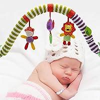 Bebé colgando campana-bebé cama clip cochecito colgante adorable niños sonido juguetes cama colgante sonajero