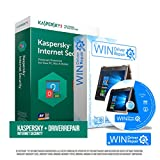 Kaspersky Internet-Security 5 Geräte 1 Jahr Vollversion + Upgrade inkl. Driverrepair & Bootup für Windows. Originalverpackte Kaspersky Smartcard für Windows, Mac, Android. Ios