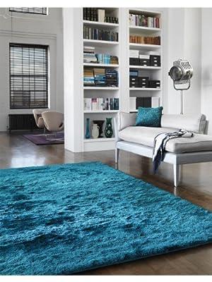 benuta Shaggy Whisper Rug - pollution-free - 100% Polyester - Plain - Hand Tufted - Living room - cheap UK light shop.