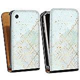 DeinDesign Apple iPhone 3Gs Étui Étui à Rabat Étui magnétique Marbre Pastel...