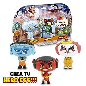 Giochi Preziosi- Hero Eggs Monsters Blíster 3 Figuras (2000HEW)