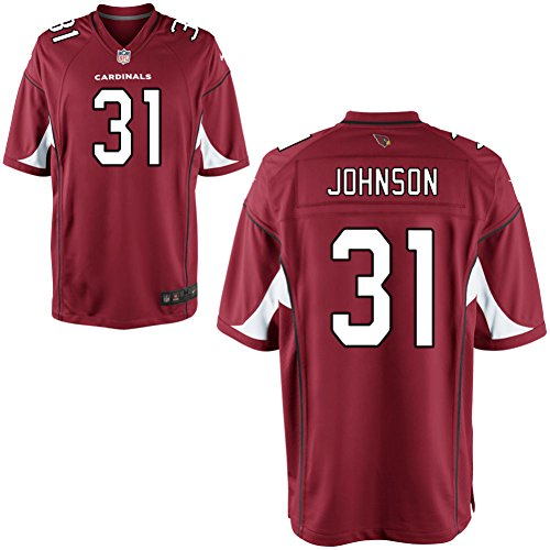 Preisvergleich Produktbild 31 David Johnson Trikot Arizona Cardinals Jersey American Football Shirt Mens Elite Red Size M(40)
