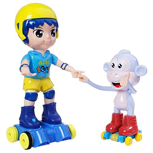 Tonor multifunzione a distanza Danza Ragazzo con la scimmia di rivoluzione di pattinaggio giocattolo di sviluppo per i bambini