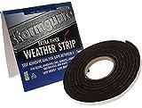 Tira protectora extra gruesa de goma espuma calado Protector para espesores 4-7mm - rollo de 7 metros negro
