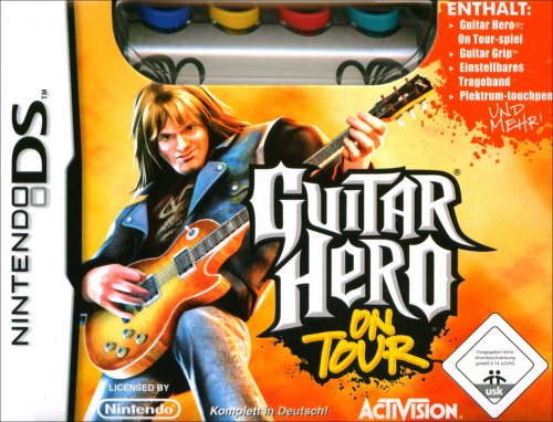 Guitar Hero: On Tour inkl. Guitar Grip (Gebrauchte Wii-konsole System)