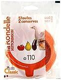 Hutchinson 485516Sachet de 10Unterlegscheiben Universal Gummi Orange 11x 82x 2