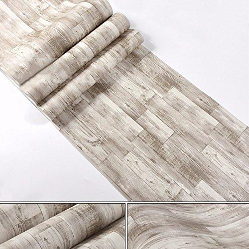 Linie Geschlossene Regale (JSLCR Alte Tapete und Retro-antiken Holz Nachahmung Holz Graffiti Tapete zu tun,Alte Farbe)