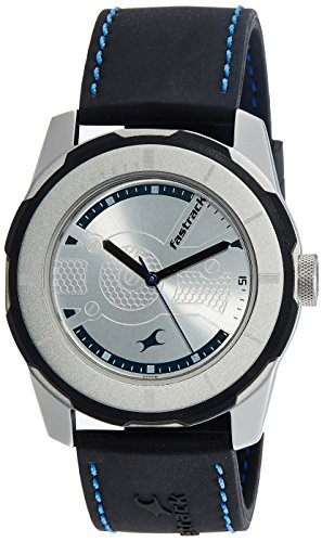 Fastrack Analog Silver Dial Men's Watch-3099SP02 image