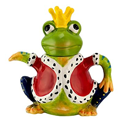 Design théière : grenouille-théière en porcelaine avec couvercle 1175 1L