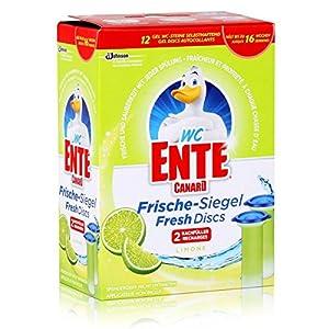 WC-Ente Frische-Siegel Nachfüller, Limone, 2 x36 ml