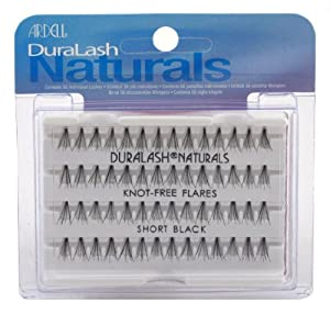 Ardell Duralash Naturals Flare Short Black (56 Lashes) (3-Pack)