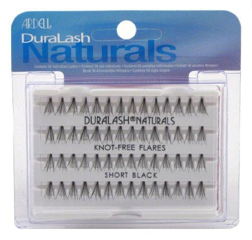 Ardell Duralash - Cils naturels ouverts courts - Noirs - 56 cils (3 paquets)